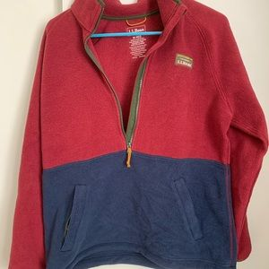 L.L Bean Mountain Classic Fleece Pullover